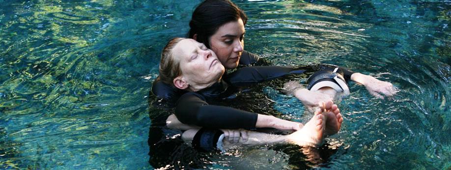 <h2> Watsu® & WaterDance</h2>  <h3> Immerse yourself into a calming world of healing & transformation. </h3>